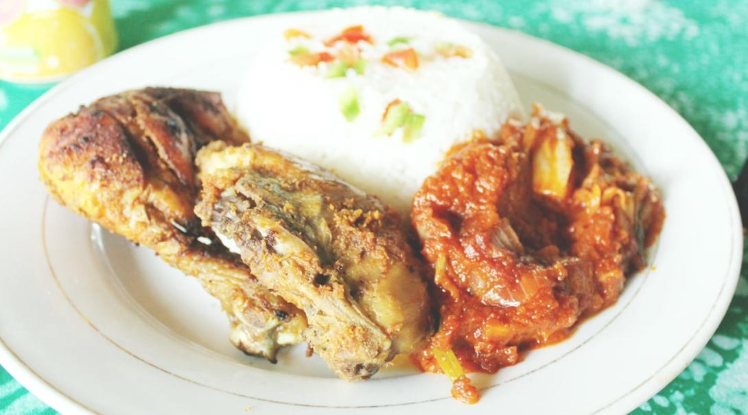 ガーナの郷土料理